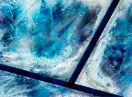 raam bevroren