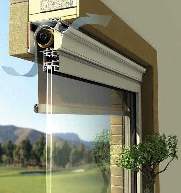ventilatie raam