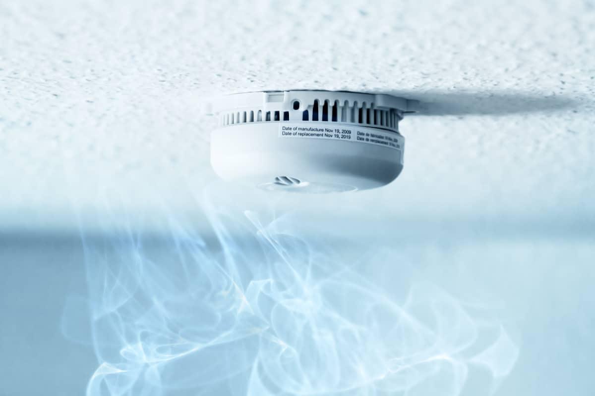 Rookmelder in combinatie met ventilatie