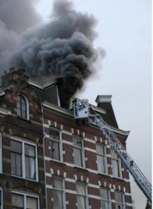ventilatiesysteem in geval van brand