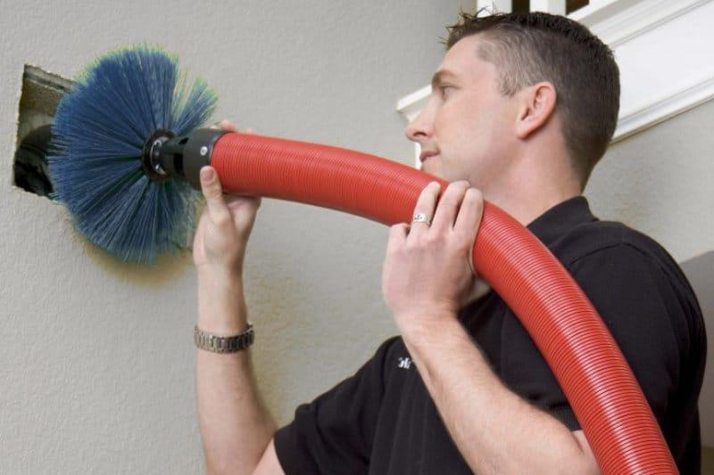 voorbeeld van onderhoud ventilatiesysteem